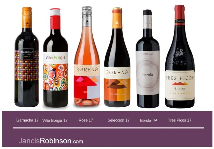 Jancis Robinson Borsao Wines are hedonistic